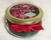 Christmas Pear Tree Soy Candle - Handmade