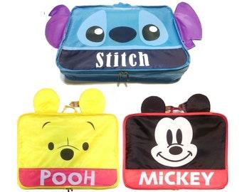 6ebbd1bc84 Disney custodia Organizer da viaggio imballaggio abbigliamento borsa  deposito bagagli cubo Design carino