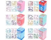4-in-1 Sanrio Self-inking Reward Stamp Teacher Homework Encourage Review Rubber Chop Set Stationery