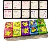 10pcs Pokemon Self-Inking Reward Stamp Teacher Homework Review Encourage Laser Sticker Chop Set Detective Pikachu