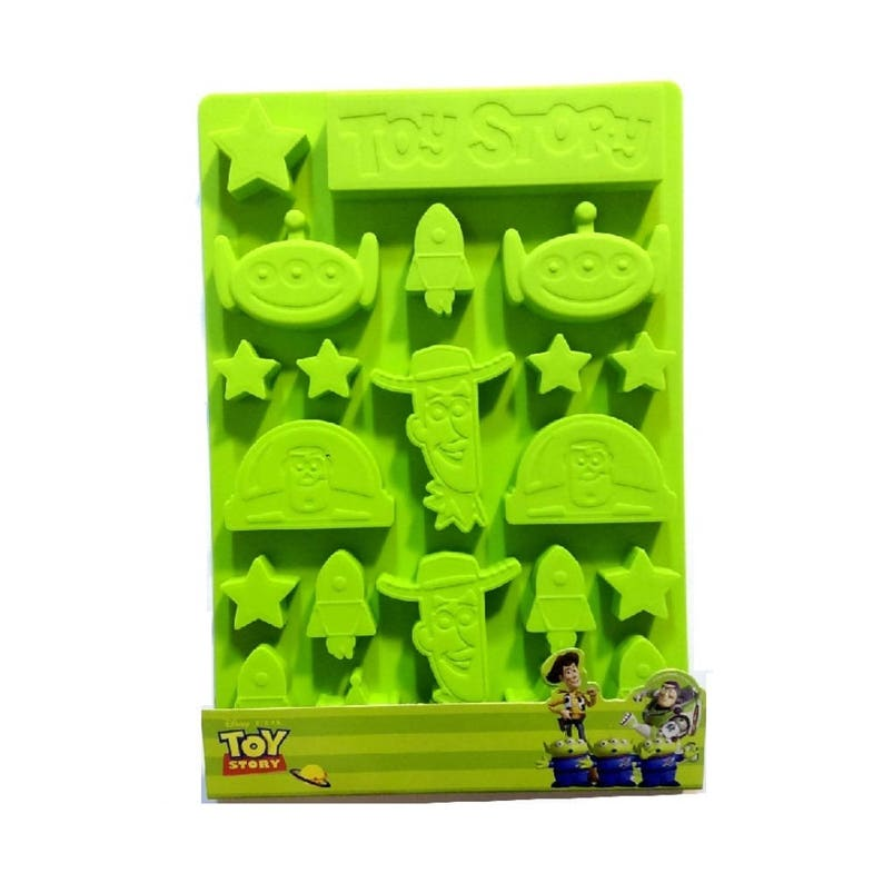 Toy Story Buzz Lightyear Woody Alien Silicone Bakeware Ice  73da24d614a