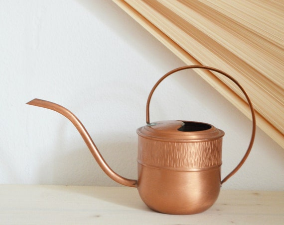 Copper Watering Can Vintage