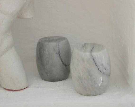 Vintage Marble Salt Shaker Pepper Shaker Set marble