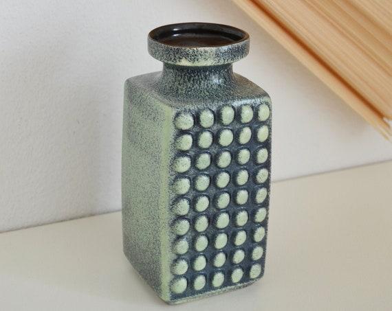 Mid century vase green