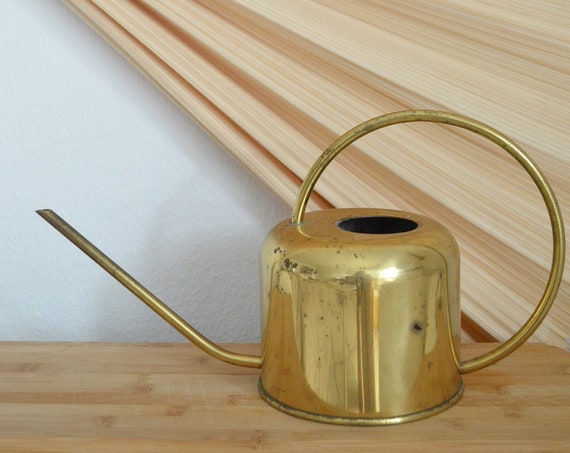 Brass Watering Can Vintage