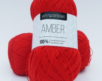 Soft cotton  Amber, made in Lithuania