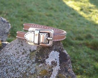 enreinement women leather bracelet