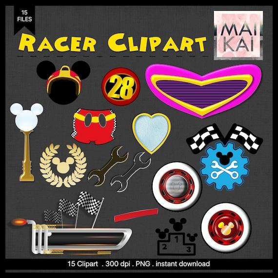 mickey roadster racer clip art mickey roadster racer etsy