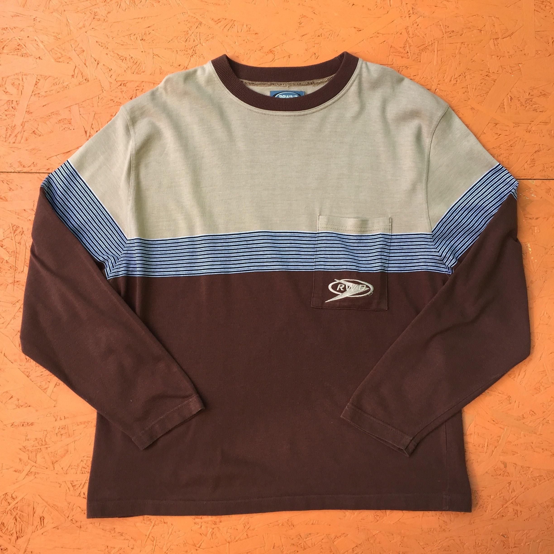 Mince et - léger Vintage à manches longues propulsion Sweatshirt - et grande taille a4ab2e
