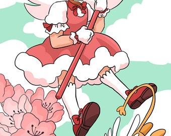 Cardcaptor Sakura Postcard Print