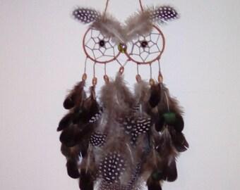 Owl dreamcatcher hanging decoration