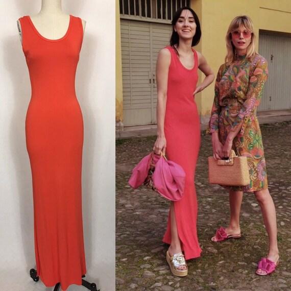1990's long summer dress, Vintage dress, Summer dr