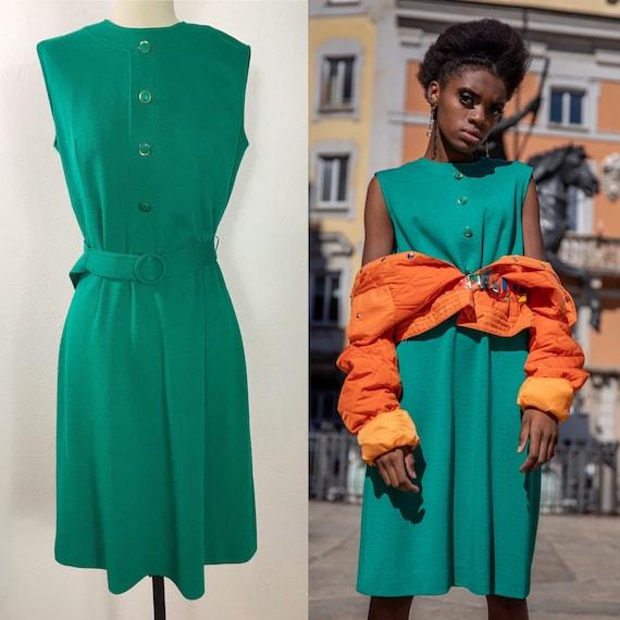 1960's Mod dress, Vintage dress, Wool dress, Autum