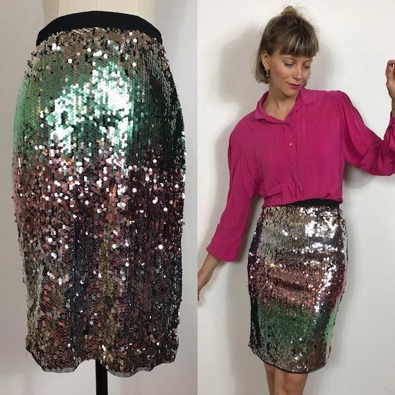 Sequins skirt, Party skirt, Glitter skirt, Tight s