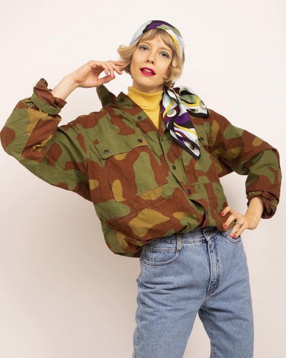 Vintage military jacket, Army jacket, Hunter jack… - image 3