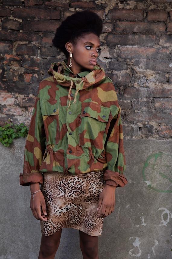 Vintage military jacket, Army jacket, Hunter jacke