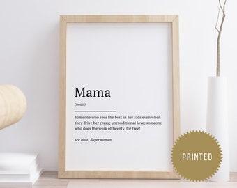 Mama Spruch Etsy