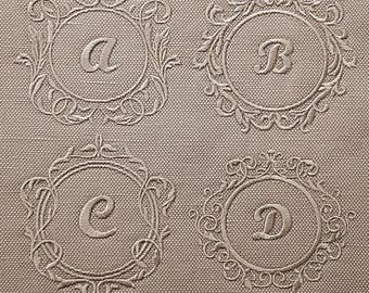 Set of Monogram Frame Machine Embroidery designs