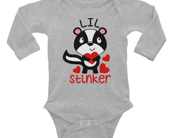 Lil Stinker Infant Long Sleeve Bodysuit