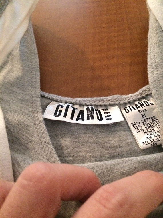 vintage Gitano women's leotard size medium