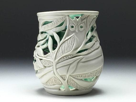 Owl Orchid Pot