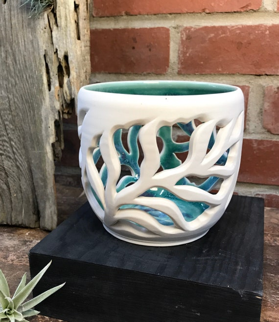 Leafy Orchid Pot