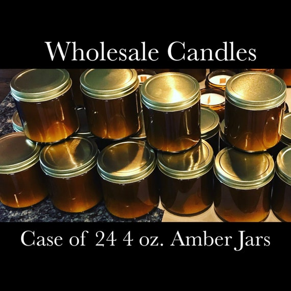 Herbal Soy Candles Case of 24 4oz