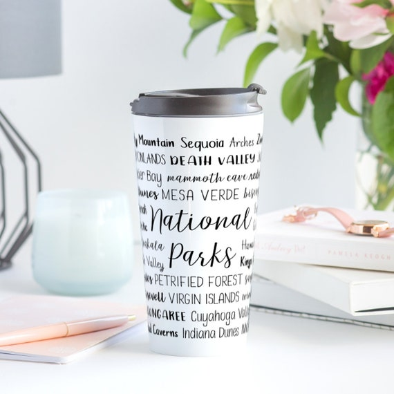 National Parks Travel Mug  Stainless Steel  Insulated