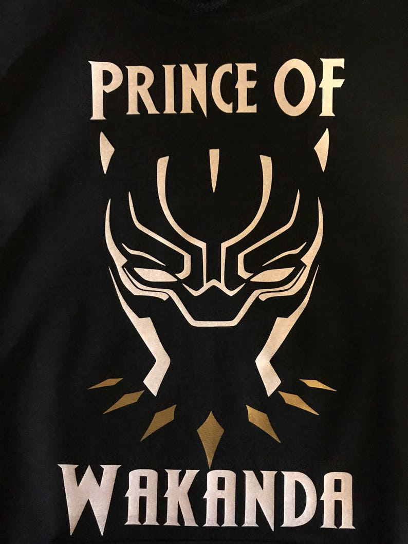 Black Panther, King, Queen, Prince and Princess of Wakanda Hoodies