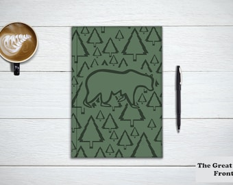 THE GREAT OUTDOORS Collection, Stationary Notebook. Travel Diary, Animal Journal and Nature Notebook. Nature Lover Gift. Adventure Awaits.