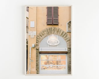 florence wall art, european street sign, florence italy photography, travel art print, travel large wall art, europe photo, home decor