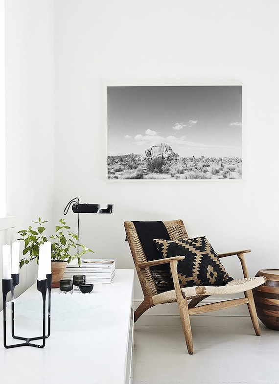 Minimalist Home Decor Joshua Tree Large Wall Art Joshua Tree Etsy