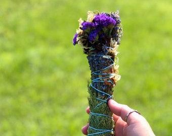 Ceremonial Smudge - Cedar - Lavender - Echinacea