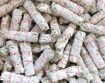 Wholesale White Sage Bundles - Bulk Sage - Organic White Sage Smudge Bundles - Wholesale Price