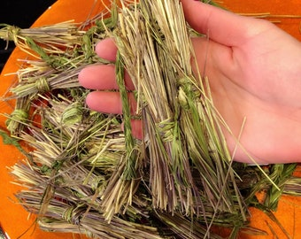 Loose Sweetgrass - 1oz Bag Sweetgrass - Organic Sweetgrass - Native American Sweetgrass