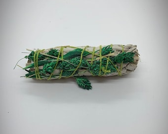 "Green Phalaris Grass White Sage - 4"" - Sold Individually - Natural Reed Grass"