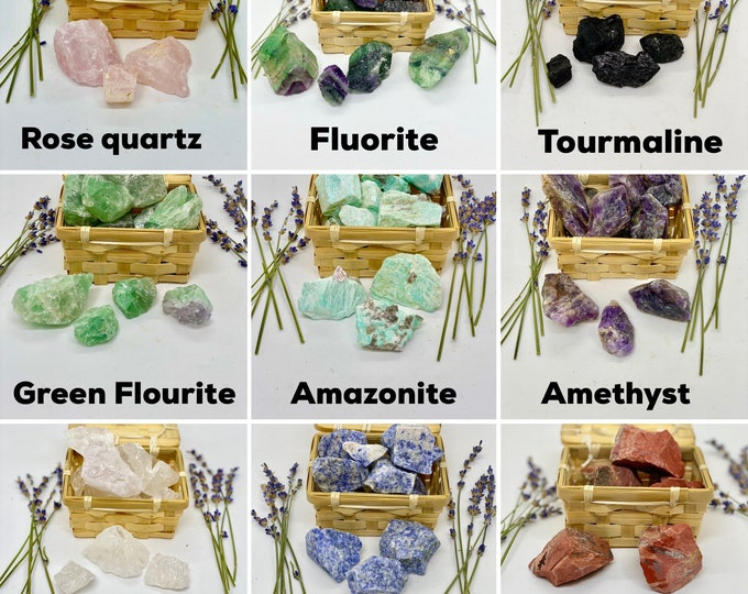 Featured listing image: Raw Crystals - Healing Crystals - Reiki - Crystal Therapy