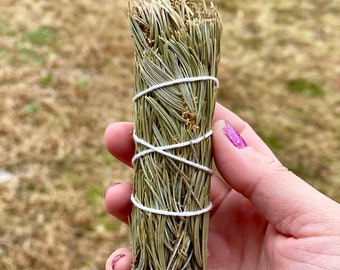 White Pine Smudge Stick - Sold Individually - Pine Smudge Bundle