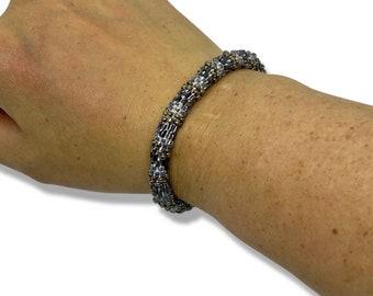 Beaded Bracelet - Slip on style - Fits Most Wrists