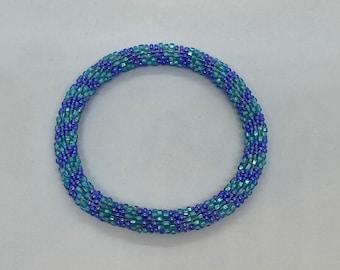 Beaded Bracelet- Slides On Easily - Fits Most Wrists