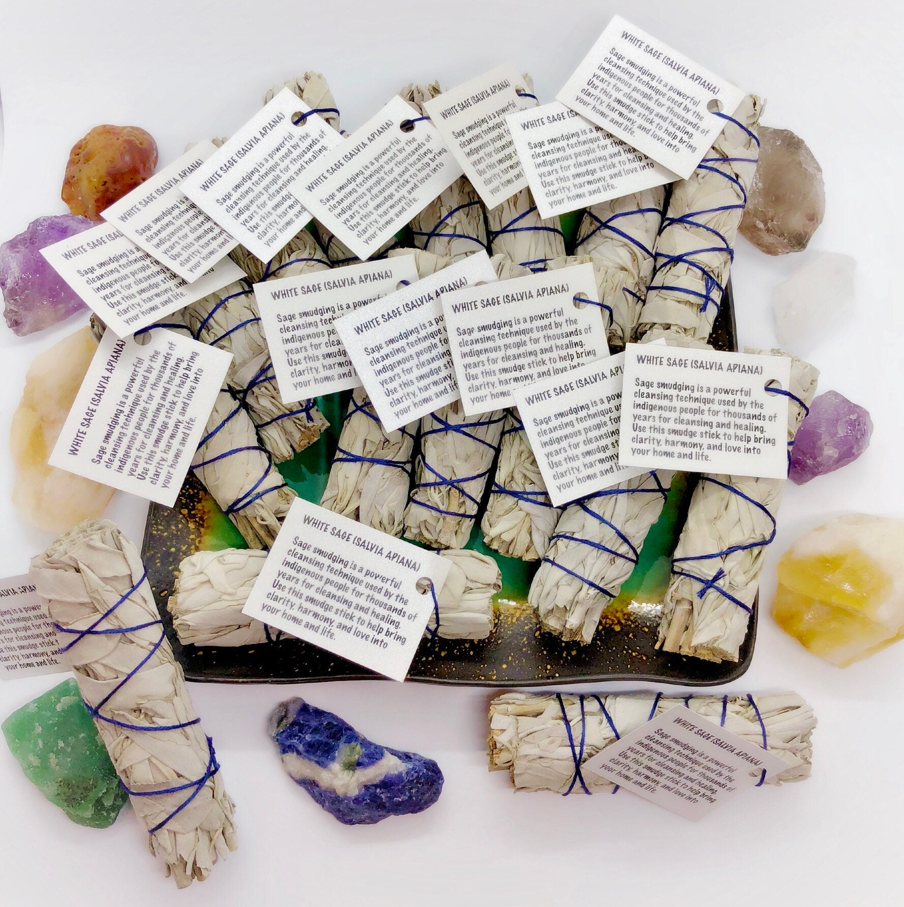 Wedding Favors Sage Smudge Sticks Custom Options Available
