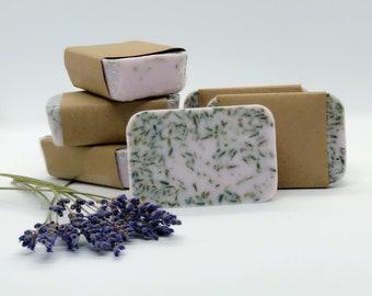 Lavender Soap - Organic Soap - Vegan Soap - Moisturizing - All Natural Bar Soap - Handmade Soap