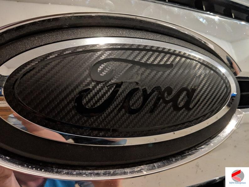 Ford Explorer 2020-2021 Emblem Overlay Badge Decal Carbon ...