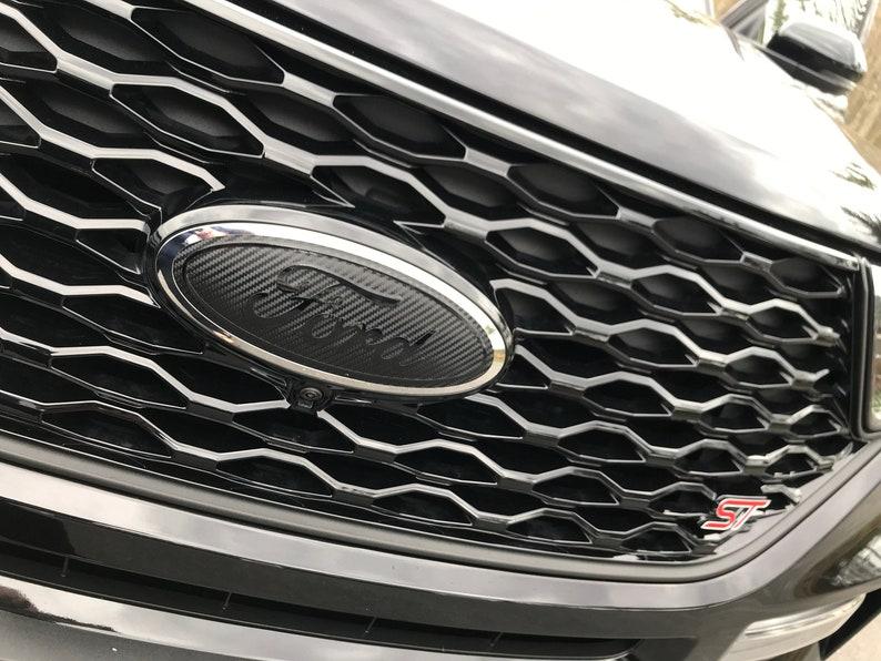 Ford Explorer 2020 2021 Emblem Overlay Badge Decal Grille ...
