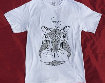 Colorable Hippo t-shirt