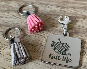Knit Life Stitch Marker Set