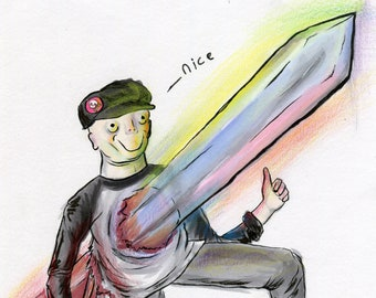 Nice (ORIGINAL ART)