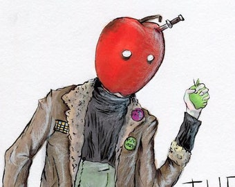 The Apple Juicer (ORIGINAL ART)