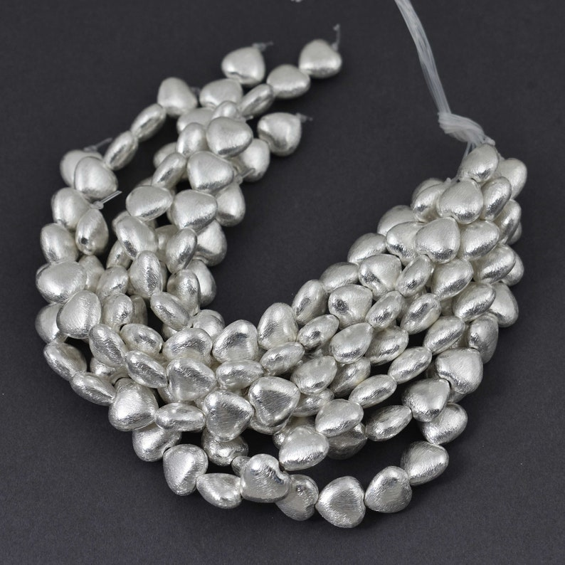 silver for jewellery /& charm making 12mm multi faceted spacer white