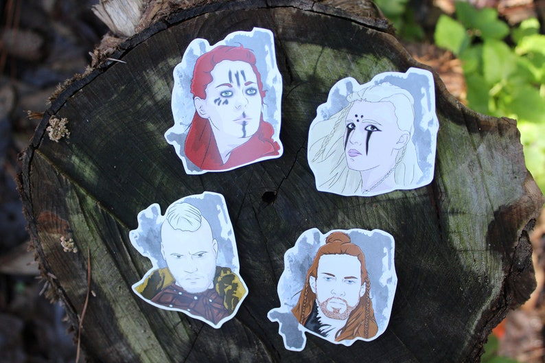 Sky in the Deep Character Stickers